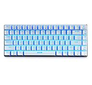 Механическая клавиатура Игровые клавиатуры USB Черная ось RGB подсветка Ajiazz
