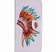For Google Pixel XL Pixel Case Cover Indian Hat Painted PU Phone Case