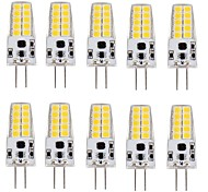 3W G4 LED Corn Lights T 20 SMD 2835 280-300 lm Warm White Cool White AC/DC 12 V 10 pcs