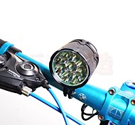 Bike Lights LED LED Cycling Rechargeable High Power Suitable for Vehicles Lumens Camping 8.4V 1A 100-240V AC 50-60HZ