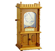Music Box Castle in the Sky Classic & Timeless Wood Khaki For Boys / For Girls
