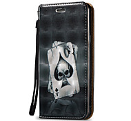 For Samsung Galaxy A3 A5(2016)Case Cover 3D Skull  Hard PU Leather for A3 A5