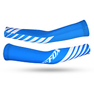 Arm Warmers Bike Thermal / Warm Protective Lightweight Materials Comfortable Unisex Blue Terylene