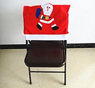 cadeira cobre 50 x65cm Natal Papai Noel