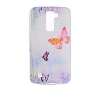 For LG V20 V10 K10 K8 K7 G5 G4 G3 Case Cover Butterfly Pattern Back Cover Soft TPU