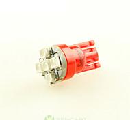 2 х супер красный T10 194 168 W5W 5x 3528 автомобилей сторона клина DC12V задний фонарь Лампа