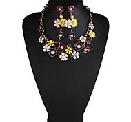 Schmuck 1 Halskette 1 Paar Ohrringe Perle Alltag Perle 1 Set Damen Wie in der Abbildung angezeigt Hochzeitsgeschenke