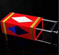 Accesorio de Magia Hobbies de Tiempo Libre Cuadrado Metal Rojo Para Chicos Para Chicas