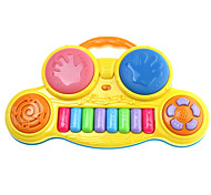 Educational Toy Novelty Piano Novelty Toy Yellow Plastic