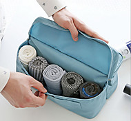 2 L Toiletry Bag Traveling Waterproof Zipper Cloth