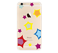 Colorful stars Pattern TPU Soft Case Cover for Apple iPhone 7 7 Plus iPhone 6 6 Plus iPhone 5 SE 5C iPhone 4