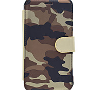 For Samsung Galaxy J7(2016) J5(2016) J1(2016) On7(2016) J7 J2 Case Cover Camouflage B Series PUP Material With A Magnetic Clasp Cell Phone Case