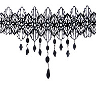 Necklace Choker Necklaces Jewelry Party Daily Christmas Gifts Unique Design Lace Women 1pc Gift Black