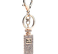 Key Chain Square Key Chain Gold Metal