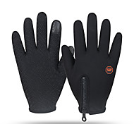 Gloves Sports Gloves Unisex Cycling Gloves Winter Bike GlovesKeep Warm / Anti-skidding / Windproof / Snowproof / Wearable / Fleece Lining