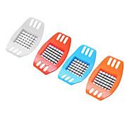 1 Pças. Cutter & Slicer For para Vegetable Aço Inoxidável Novidades / Alta qualidade / Creative Kitchen Gadget