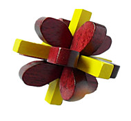 Assembly & Disentanglement Puzzles / Kong Ming Lock / Toys Novelty Toy Toys Wood Dark Red / Yellow For Boys / For Girls5 to 7 Years / 8