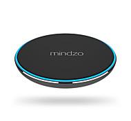 mindzo беспроводная зарядка накладка ци ультра-тонкий зарядное устройство для Samsung s7 s6 края примечание 5 связующей 4 5 6 7 Nokia