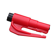 2in1 Car Safety Hammer with Window Breaker and Seatbelt Cutter Quick Car Escape KeyChain Tool