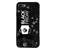 Black Friday  Pattern  TPU Material Phone Case for iPhone 7 7 Plus 6s 6 Plus