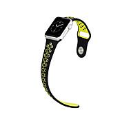 hoco silicone bracelet de rechange de sport pour la montre de pomme 42mm 38mm