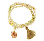 New Coming Imitation Turquoise Elastic Bracelet for Women