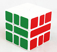 Toys Smooth Speed Cube Alien Novelty Stress Relievers Magic Cube White Plastic