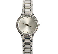 Damen Modeuhr Quartz / Legierung Band Bequem Silber Silber