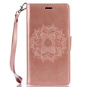 Для wiko lenny3 lenny2 pu кожа материал datura цветы шаблон бабочка телефон случай