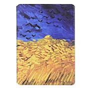 Per Porta-carte di credito Origami Custodia Integrale Custodia Paesaggi Resistente Similpelle per Apple iPad Air 2 iPad Air