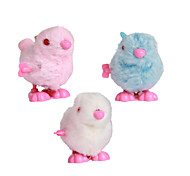 Wind-up Toy Novelty Toy Toys Novelty Rabbit Plastic Plush White Blue Pink For Boys For Girls