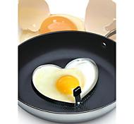2 Pças. Mold DIY For para ovos / Para utensílios de cozinha Metal Gadget de Cozinha Criativa