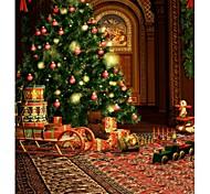 ChristmasTree фон фото студия фотографии задники 5x7ft