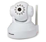 Sricam 1.0 MP Крытый with ИК-фильтр 128G(день Ночь Обнаружение движения удаленный доступ Защищенное Wi-Fi подключение Автоматическое