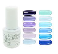 yemannvyou®sequins УФ цвет гель лак для ногтей no.61-72 (5мл, разные цвета)