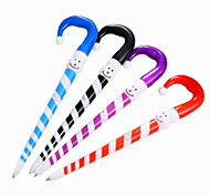 Cartoon Plastic Snow Pattern BallPoint Pen