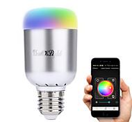 6W E26/E27 Ampoules LED Intelligentes A60(A19) 16 LED Haute Puissance 480 lm Blanc Chaud Blanc Froid Blanc Naturel RVBDécorative