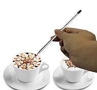 DIY Stainless Steel Coffee Fancy Stitch Special Fancy Coffee Necessary Coffee Shop Tools(1pcs)