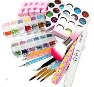 10sets инструменты 12 цветов блеск 12 цветных лазерных флэш-порошка 12 цвета вырезают образцы конструкций на изделия из дерева порошка