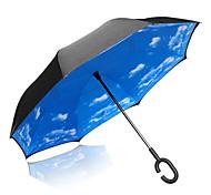 Long-handle Umbrella Plastic Travel Lady Men Car