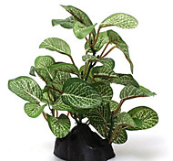 Aquarium Decoration Plants Plastic Green