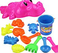 Tue so als ob du spielst Freizeit Hobbys Spielzeuge Neuartige Krokodilleder Stil ABS Regenbogen Für Jungen Für Mädchen