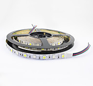 flexible de tira del LED RGB IP20 no-impermeable 300 SMD luz decorativa de 5050 60 LED / m 12v dc 1 pieza