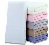 Wash TowelSolid High Quality 100% Cotton Towel