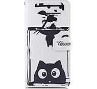 For Apple iphone7 iphone7 Plus iphone6s iphone6s Plus iphone6 iphone6 Plus The Perfume Bottles Cat Pattern PU Leather Case