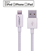 HXINH MFi Lightning to USB 2.0 Charger & SYNC Cable, for iphone7 6s Plus,iPad Air,iPad mini, Nano 7, Touch 5 ,White, 2M