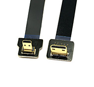 Cy® HDMI Micro-Mini HDMI vergoldet Adapter 1080P 0.1m (0.3Ft)