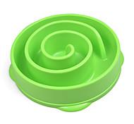 Chat Chien Bols & Bouteilles d'eau Animaux de Compagnie Bols & alimentation Etanche Portable Vert Bleu Rouge Rose Plastique
