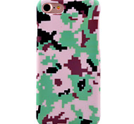 For Apple iPhone 7 7Plus 6S 6Plus Case Cover Camouflage Pattern Of The New Painted PC Material Phone Case
