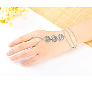 Bracelet Ring Bracelet Sterling Silver Others Natural Gift Valentine Jewelry Gift Silver,1pc